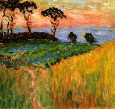 Landscape near Marseille, 1907 - Alexei Jawlensky