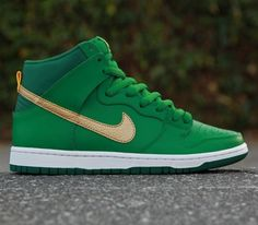 "Nike SB Dunk High – ""St. Patrick's Day"""