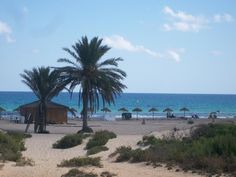 The lovely landscape of Gran Alacant, a beach town on the Costa Blanca in Spain