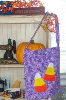 DIY Halloween Treat Bag : DIY make your own Halloween Trick-or-Treat Bag