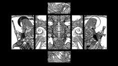Norse Wolf Tattoo by fallingSarah on DeviantArt Slavic Tattoo, Pagan Tattoo, Vikings, Eslava, Original Tattoos, Color Vector, European History, Russian Art, Art Reference