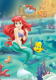 103 Best Little Mermaid Cake Images On Pinterest