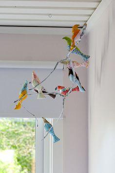 Bird mobile in Elins room no Flickr – Compartilhamento de fotos!