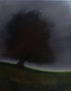 Arbre 3 Huile sur toile, 65x50cm