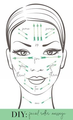 is Facial Rolling and Do I Need To Do It? How to give yourself a facial massage with a jade or rose quartz roller!How to give yourself a facial massage with a jade or rose quartz roller! Beauty Care, Beauty Skin, Beauty Hacks, Beauty Tips For Face, Health And Beauty Tips, Face Tips, Face Skin, Face And Body, Haut Routine