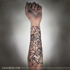 Discover the charm of Asian and Japanese folded paper with the top 90 best origami tattoo designs for men. Explore ancient art forms and ink ideas. Geometric Shape Tattoo, Geometric Tattoos Men, Geometric Sleeve Tattoo, Mens Forearm Sleeve Tattoo, Best Sleeve Tattoos, Tattoo Designs And Meanings, Tattoo Designs Men, Line Tattoos, Tattoos For Guys