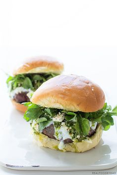 ... the Grill on Pinterest | Lamb burgers, Grilled lamb chops and Lamb
