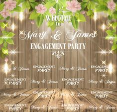 Wedding Step and Repeat Red Carpet Backdrop, Event Banner, Repeat, Backdrops, How To Memorize Things, Templates, Engagement, Party, Prints
