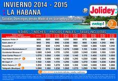 Salida desde Madrid La Habana desde 900€ tasas incluidas