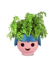 Lechuza OJO, blau | Amadeo Ambiente Planter Pots, Home Decor, Style, Barn Owls, Eyes, Playmobil, Water Supply, Innovative Products, Plants