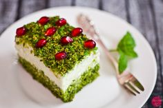 Ciasto leśny mech przepis, spinach cake