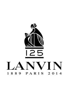 Lanvin's 125th anniversary logo. [Courtesy Photo]
