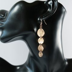 Boucles d'oreille métal doré