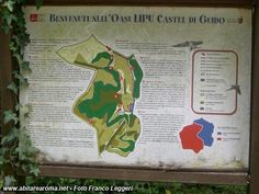 Mappa Castel Di Guido