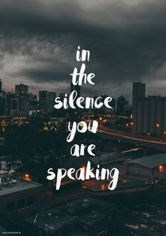 In the silence you are speaking – In the silence – Jason Upton Volledige tekst In the silence Hieronder de …