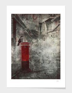 Red Letter Box main illustration
