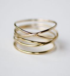 Featured this week at PinkLion.com: 14k Gold Wrap Ring - https://www.pinklion.com/products/11564-gold-wrap-ring