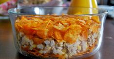 Gospodyni Miejska Nachos, Macaroni And Cheese, Oatmeal, Food And Drink, Pudding, Menu, Dishes, Cooking, Breakfast