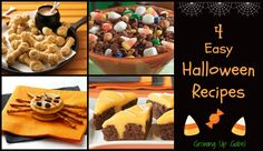 4 Spooky Halloween Recipes for A Halloween Treat #Halloween #recipes #snacks