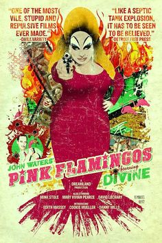 "Blogger House: DIVINE E JOHN WATERS EM ""PINK FLAMINGOS"""