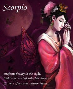 Scorpio ~ Essence of a warm autumn breeze