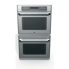 GE�Cafe 30-in Self-Cleaning Convection Double Electric Wall Oven (Stainless)