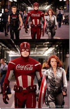 Así se verían los superhéroes si les pagaran patrocinio (imágenes cómicas) - http://www.leanoticias.com/2013/04/22/asi-se-verian-los-superheroes-si-les-pagaran-patrocinio-imagenes-comicas/