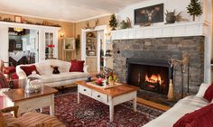 love the cozy feel of this room