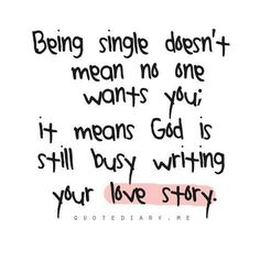 Allow God to use you and your singleness, surrender it to him! He knows what's best for you and hia timing is always right on time!! ♡ #Encouragement