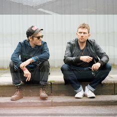 Jamie Hewllett and Damon Albarn