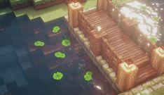 golden hour - Minecraft World Minecraft Bridges, Minecraft Structures, Minecraft Plans, Minecraft Room, Minecraft Tutorial, Minecraft Blueprints, Minecraft Party, Minecraft Buildings, Mine Minecraft