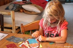 Mess-Free Glitter: Check out this kid-led tutorial...