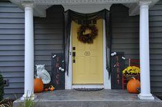My front door for Halloween