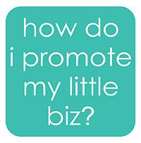 what sort of marketing should i do? this whole blog is a GREAT resource for small businesses!