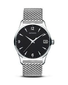 Movado Men's Circa Watch with Mesh Bracelet 0606802 G Shock Watches, Cool Watches, Stylish Watches, Datejust Rolex, Movado Mens Watches, Men's Watches, Watches Online, Fashion Watches, Vintage Watches For Men