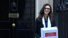 "A model who was asked to slim ""down to the bone"" hands in a petition to Downing Street calling for better healthcare in the modelling industry."