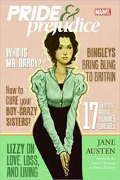@Overstock - As part of a series of classic releases, Marvel has conscripted historical romance writer Nancy Butler to transcribe Jane Austen`s Regency masterpiece PRIDE AND PREJUDICE into comics form. Butler clearly appreciates and has worked hard to translate Aus...http://www.overstock.com/Books-Movies-Music-Games/Marvel-Illustrated-Pride-Prejudice-Graphic-Novel-Paperback/4893284/product.html?CID=214117 $9.98