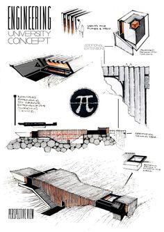 Concrete Enthralled by Anique Azhar, via Behance