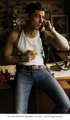 Werner Schreyer by Terry Richardson for Vogue Hommes International