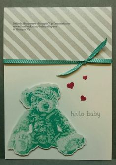 Baby Bear - Stampin Up