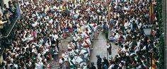 La segunda semana de agosto, Huesca celebra las fiestas en honor de su patrón, San Lorenzo.