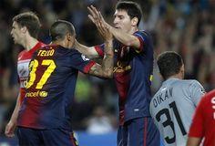 Conexión perfecta entre Tello y Messi! Visca Barca!