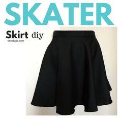 skater skirt diy pattern