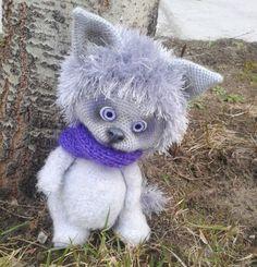 Eyelash yarn for amigurumi toys