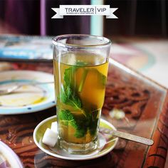 Tea isn't just a drink in #Morocco... It is a sign of hospitality, friendship, and tradition. It's also one of the best kinds of Tea you will ever taste in your life.   Have you ever tried it?