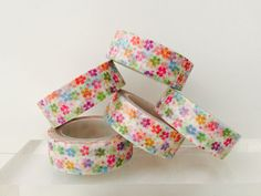 Spring Flowers Washi Tape by GoatGirlMH on Etsy