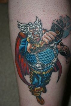 Not all of them are tasteful or nice, that is true, but here is the result of hours of scouring the web for some of the most is interesting and eye-catching superhero tattoos. Description from oddstuffmagazine.com. I searched for this on bing.com/images