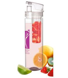 Infuser Water Bottle - you can create your own personalized flavored beverages - reusable too!