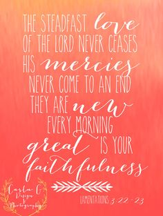 Lamentations 32223 Great is Your by CarlaGDesignandPhoto on Etsy, $10.00