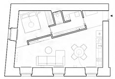 Gallery of House Plans Under 50 Square Meters: 26 More Helpful Examples of Small-Scale Living - 44